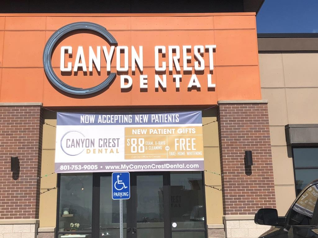 Lehi UT, Canyon Crest Dental Office
